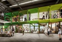 seacan projects / a cool way to recycle seacans and incubate new/local retailers