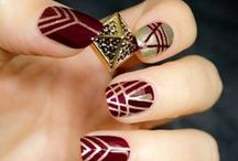 Mani Madness / Purdy up your nails and complement them rings!
