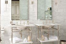 Bli inspirerad - Badrum / Här samlar vi idéer för när ni ska renovera ert badrum
