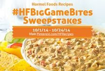 #HFBigGameBites (Closed) / **This sweepstakes is closed.** Big Game season is here! Enter our #HFBigGameBites Sweepstakes for a chance to win everything you need to throw the perfect Big Game Bash! To enter:  1. Create a board called #HFBigGameBites.  2. Repin a pin from this board or upload your own Big Game Bite to your #HFBigGameBites board.  3. Pin at least four (4) other pins to your #HFBigGameBites board for a total of five (5) pins to complete your perfect 'Big Game Bash.' Official rules: http://ow.ly/Cajzr