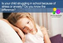 Emotional Development / Helpful tips and information for children who struggle with anxiety. #anxiety #kids #kidswellness #education