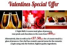 Valentines 2015 / ***Valentines Package*** 1 night BB 4 course meal Chocolates in your Room. Rose Petals on the Bed. Glass of Champagne with Dinner. Full use of Leisure Centre Cost: €105 pps  Call 01 459 3406 for more info or to book!