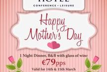 Mothers Day @ the Green Isle / See what we have to offer for all the lovely Mummies out there!