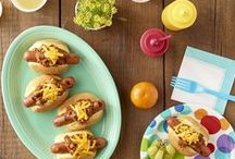 Kids' Dream Picnic / Gather your kids at the picnic table to feast on these delicious kid-friendly recipes and enjoy these fun picnic ideas.