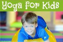 ILS Kids Yoga / Fun yoga poses and animal exercises to help children cross the midline for higher learning.