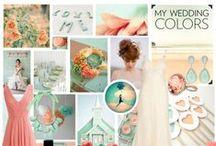 My wedding Colors / Ideas e inspiración para el gran día :).