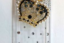 Iphone 4 plus covers / Phone covers for Iphone 4 plus made with Swarovski Crystal, Rhinestones, seed beads, Glass beads, Crystal, Metal Charms,