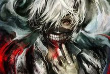 Anime Art / All traditional and digital artworks in anime art style, include original artworks and fanarts