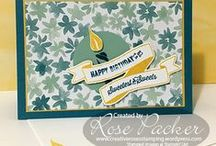 Banners Galore / This board features creations using Birthday Banners and Banners for You stamp sets and the Bunch of Banners framelit dies to name a few.