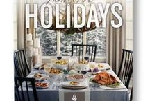 Home for the Holidays cookbook / Our holiday cookbook is an annual tradition shared with friends and family. In our latest edition, we've endeavoured to make holiday hosting a little less daunting. As you browse through the cookbook, each section focuses on a unique menu for every occasion. Filled with bold flavours and indispensable recipes, they serve as an inspiration to planning the perfect holiday feast.