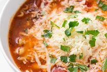 SOUP | Chili Soups & Stews / Favorite Soups, Stews and Chilis of All Kinds ~ The Best on Pinterest!
