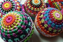 Crochet, sewing and knitting crafts
