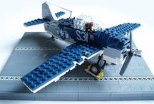 Lego Aircrafts / by Hot Legos