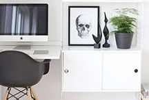 Workspace Inspirations / great things you need in your office