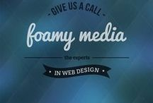 Foamy Media / Foamy Media are a full Digital Development Agency based in Stoke-on-Trent and can cater all your online media needs. We can create websites, mobile friendly websites, ecommerce websites and database driven websites, along with creating all sorts of graphics for both print and web. Foamy Media can create logos, business stationary, print publications, flyer designs and anything else your business could need.