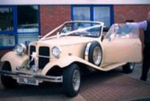 Travel in Style / Chauffer Driven Classic 1930's Beauford For Weddings & Special Occasions. www.onestopweddingshopstaffordshire.co.uk