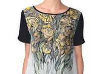 T-shirts and closing  for Women , Mens and Kids from Kanvisstyle Design / T-shirts in 100% cotton or silk , printed with cool designs from top artists, available in crew, v-neck, slim fit & scoop neck tees.. This unique painting is delicately hand drawn using the ink pen and watercolor on the reach watercolor art paper #leggings,  #lines, #black, #white, #decoration, #decor, #art , #artdeco, #redbubble , #handdrawing, #T-shirt, #scarves, #Pencil, #Skirts, #Hoodies, #Relaxet, #fitted, .Available on Society6.com , Redbubble.com and Shopvida.com