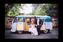 Blue Pumpkin VW Wedding Hire / Chauffeur driven classic VW Split screen Camper van Wedding car in the Staffordshire ,Cheshire and Derbyshire areas. www.onestopweddingshopstaffordshire.co.uk