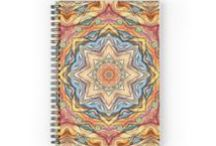 Spiral Notebooks Front cover from Kanvisstyle design / Spiral Notebooks Front cover print from an independent designer 120 pages 6'x8' #kanvisstyle