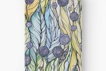 """Hardcover Journals from Kanvisstyle design / 5.5""""x7.3"""" 128 pages 90gsm paper stock Wrap around hardback cover Fully printed design on the front and back Available in a selection of ruled, graph or blank pages http://www.redbubble.com/people/kanvisstyle/shop/hardcover-journals?ref=artist_shop_product_refinement"""