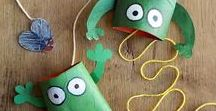 toilet paper roll craft / projects not only for kids, great ideas and inspiration, education workshop, simple instruction, for fun