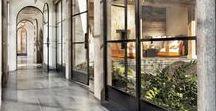 veranda and glasshouse / glass roof, glass wall, winter garden, greenhouse
