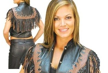 Women's Western/Country Leather Apparel and Accessories / Women's discount leather apparel and other western styles all from Jamin' Leather. Western styles include leather goods with fringe, conchos, studs, studding and other decorative embellishments