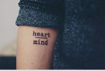 Tattoos • / Small and simple tattoos that I love.
