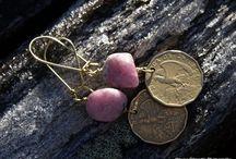 Vintage Coins Earrings