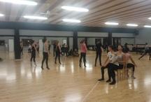 Preparazione spettacolo con GARRISON 2012