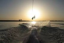 Wake Boarding / I enjoy Wake Boarding in my free time.