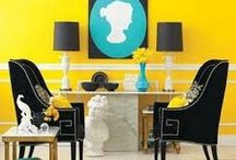 Yellow Mellow / Ideas to use yellow in home decor!