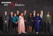 Boomers & Shakers 2013 / Boomer Magazine honors the Richmond area's Boomers & Shakers, those who inspire, create, innovate and make RVA a more interesting place to be.