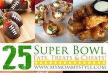 New Year's Eve and Superbowl Parties / Recipes, ideas and decorations for New Year's Eve and Superbowl/Football parties.