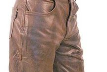 Men's Leather Pants / Quality mens leather pants at a discount price.