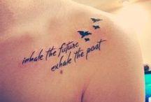 tattoos / by Sasha Renee Banta