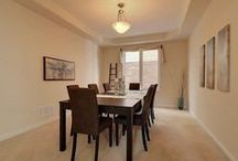 BTSH Staged Dining Rooms / Dining Rooms staged by Beyond The Stage Homes - photos from our portfolio of projects