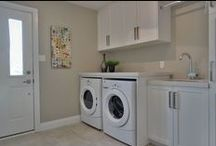 BTSH Staged Laundry Rooms / Laundry Rooms staged by Beyond The Stage Homes - photos from our portfolio of projects