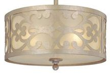 Staging: Lighting / Examples of great light fixtures for when you're preparing your home for sale.