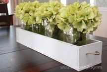 Staging: Centerpieces / Examples of centerpieces for when you're staging your home for sale.