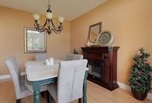 Staging: Mantels / Examples of how to properly stage a mantel when preparing your home for sale
