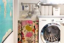 Eclectic Design: Laundry Rooms