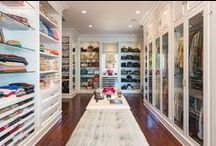 Dream Closets / Beautifully designed and organized closets