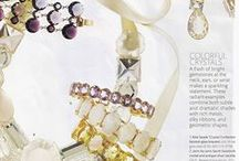 Wedding Jewelry (For The Bride) / Wedding jewelry designed by Rosanne Pugliese for the bride