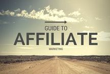 Affiliate Marketing / Affiliate marketing is a type of performance-based marketing in which a business rewards one or more affiliates for each visitor or customer brought by the affiliate's own marketing efforts. / by Blog Basics