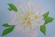 Landscape , Plant / Painting , acrylic (oil) pictures