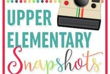 Upper Elementary Snapshots / Find fun, creative ideas, and quality resources pinned by the teachers from the Upper Elementary Snapshot's blog. Lots of teacher tips, classroom ideas and resources for grades 3rd, 4th, 5th, and 6th!