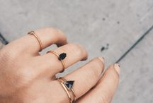 Rings -> Need ♡ / If they all were silver... minimalist, thin, delicate, small
