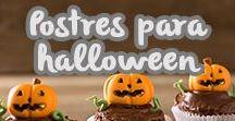 Postres para Halloween / Todo lo que necesitas para crear las más dulces y terroríficas delicias. #JABE