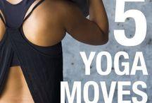 Yoga moves / Exercise